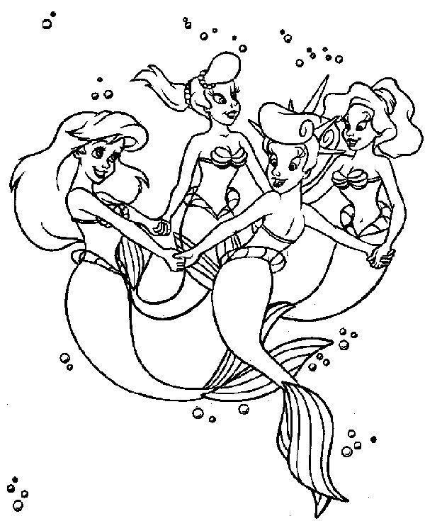 Cute Coloring Pages Printable   Mermaid coloring book ...