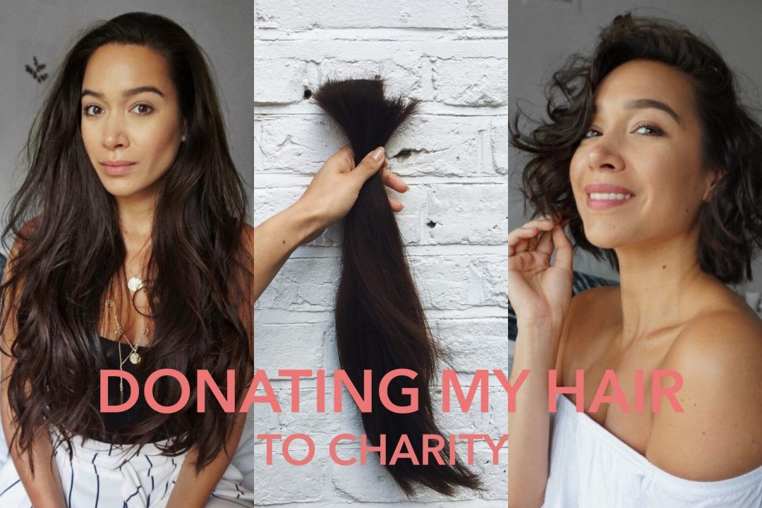 Donating my hair to charity | My first YouTube video! | By Noelle