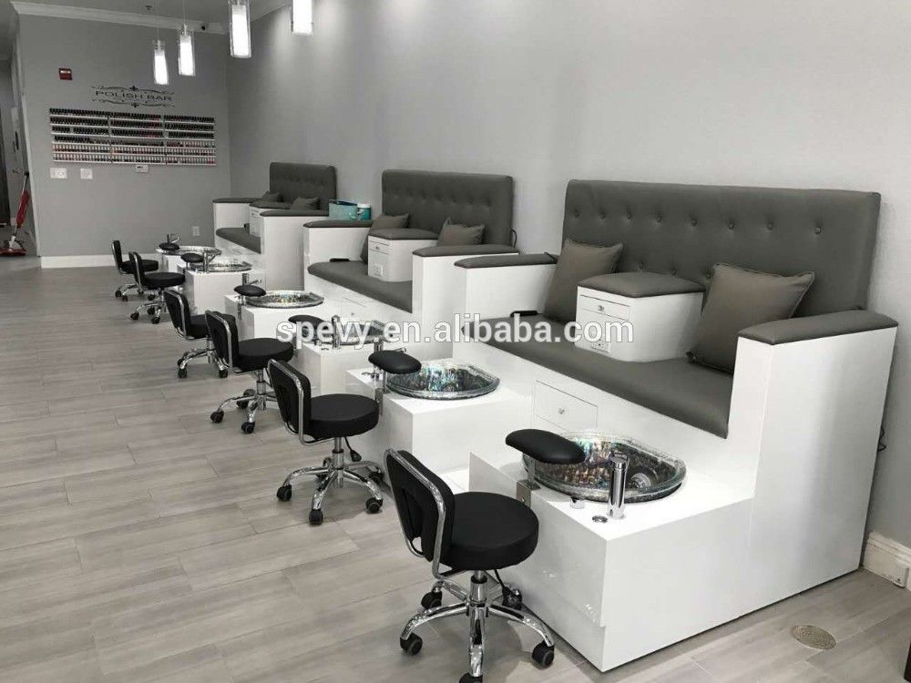 Peachy Double Seats Pedicure Benches In 2019 Pedicure Station Creativecarmelina Interior Chair Design Creativecarmelinacom