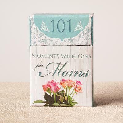 101 Moments W/God for Moms (Other), Black