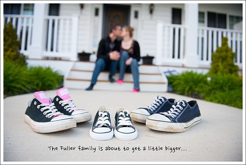 Cute pregnancy announcement for first time parents