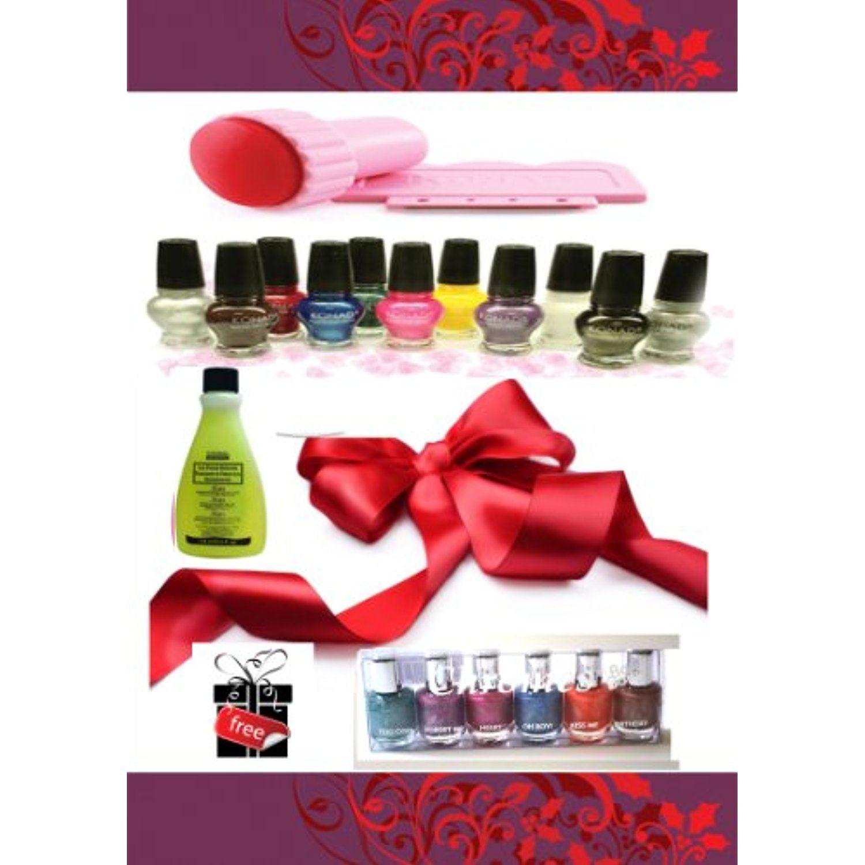 X konad nail art special polish ml each stamper and scraper