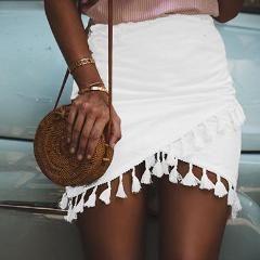 Bohemian Tassel skirt