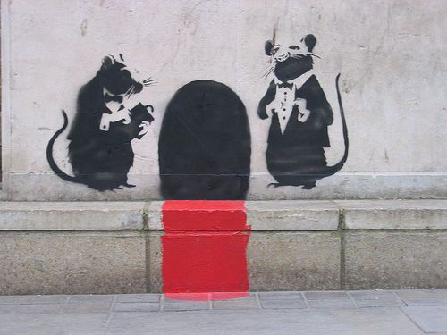 Banksy Street Artist Boy Electric Switch Print A4 A3 A2 A1