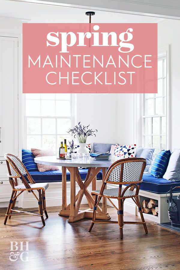 Photo of Hier ist die Ultimate Home Maintenance Checkliste