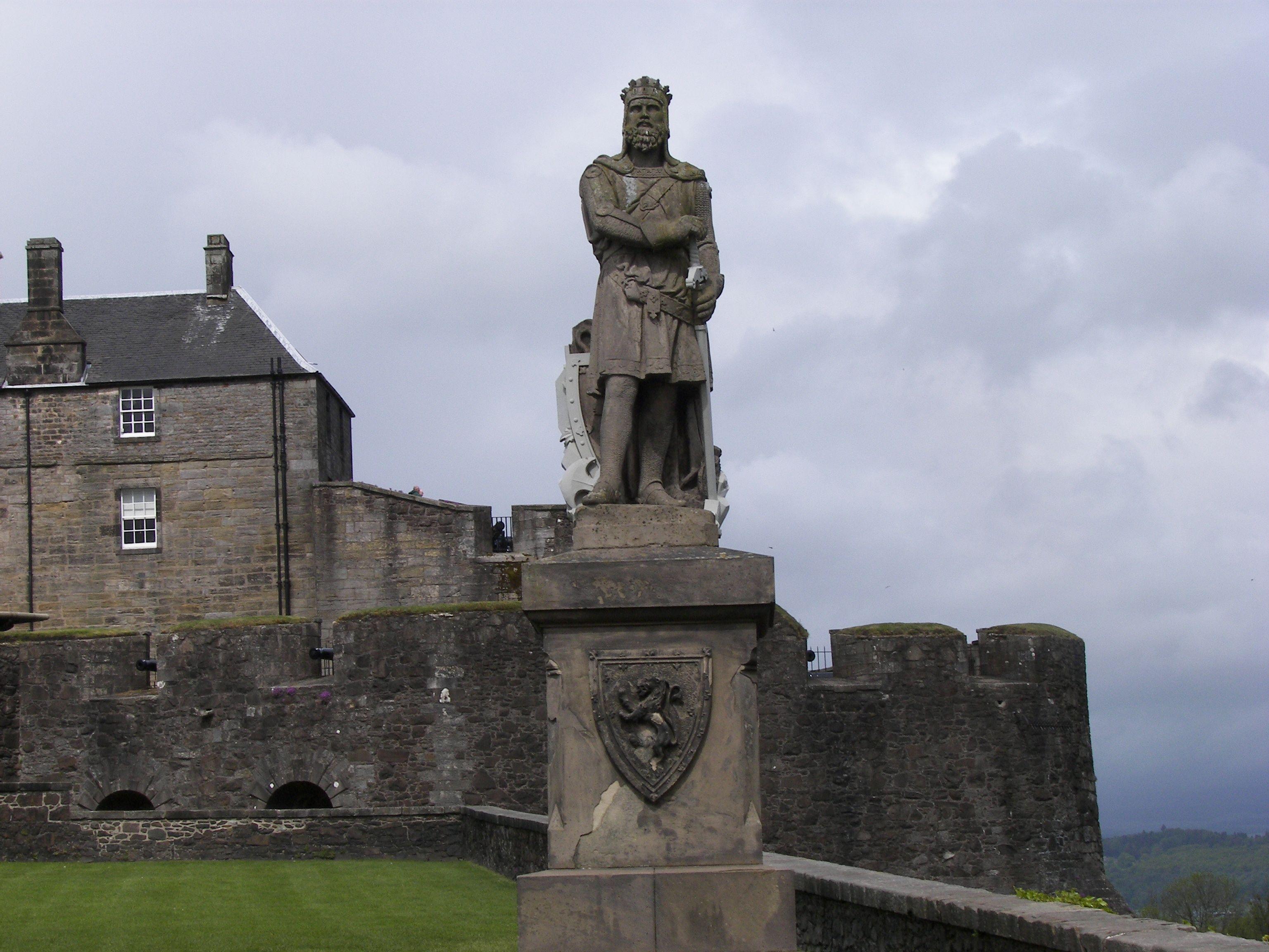 Image result for robert the bruce stirling castle