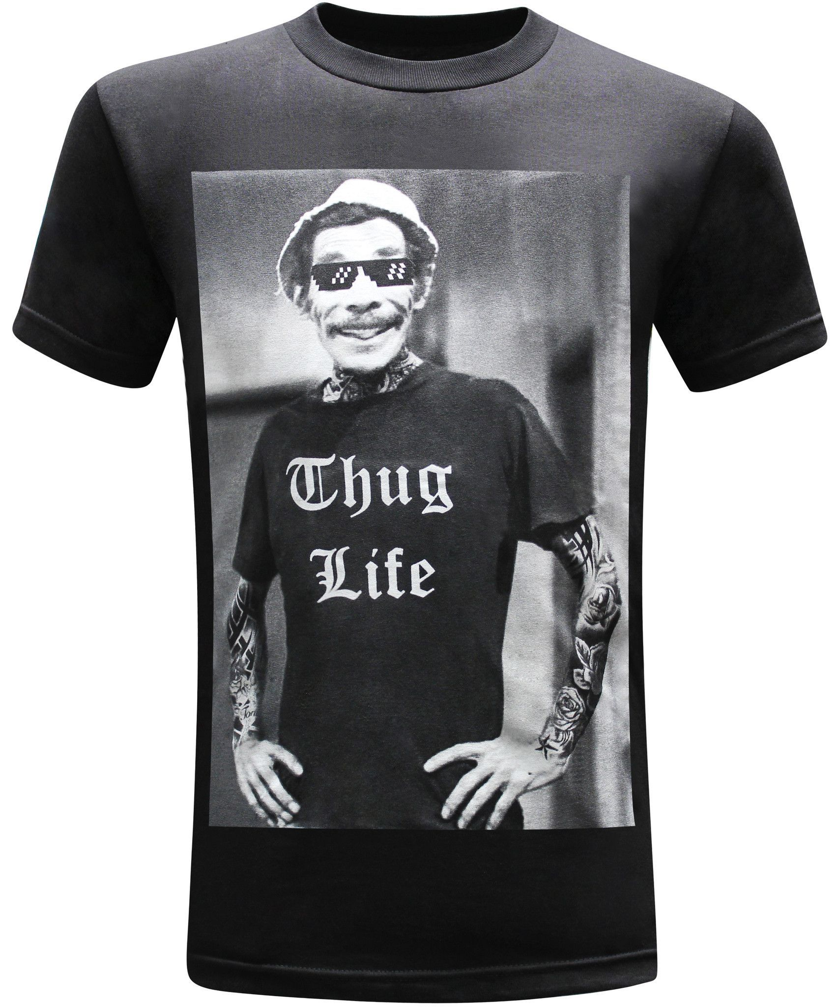 f911218305 Don Ramon Thug Life Mens Funny T-Shirt Thug Life Engraçado