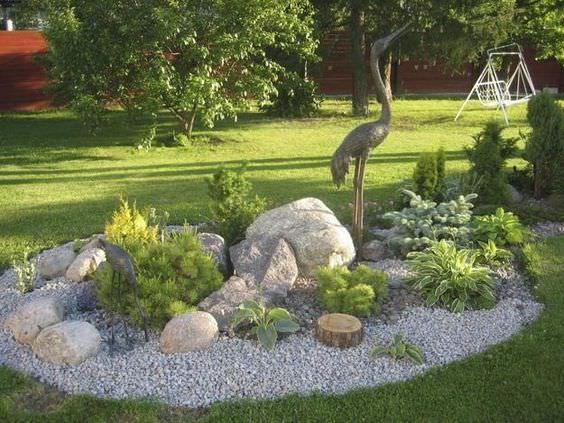 How To Landscaping Rocks Jardinería, Jardines y Patio delantero - decoracion de jardines