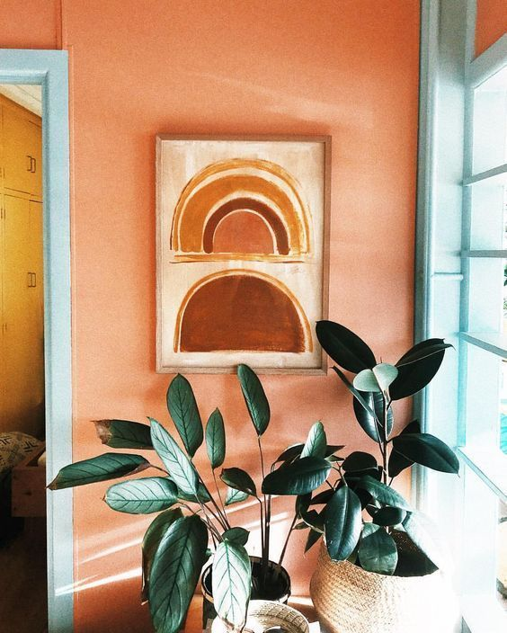 Tendance 2019 Les Formes Graphiques Home Deco Decoration Et Art Abstrait Colore