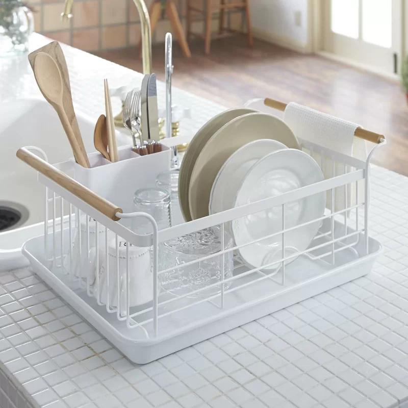 On Course Innovations Metal Countertop Dish Rack | Wayfair