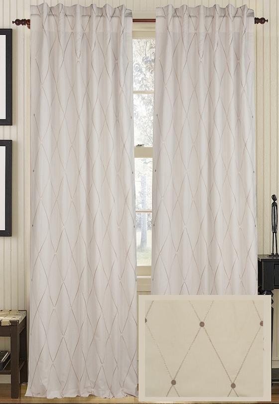 Harlequin Curtain Panel Draperies Tiebacks Window Treatments
