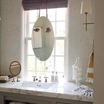 Sink In Front Of Window With Images Diy Bathroom Remodel