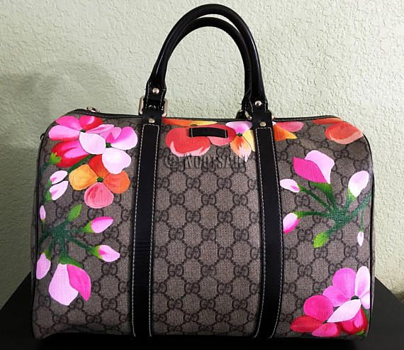 c8f20c7163a Custom handpainted Gucci bag...Customer provides the bag in 2019 ...