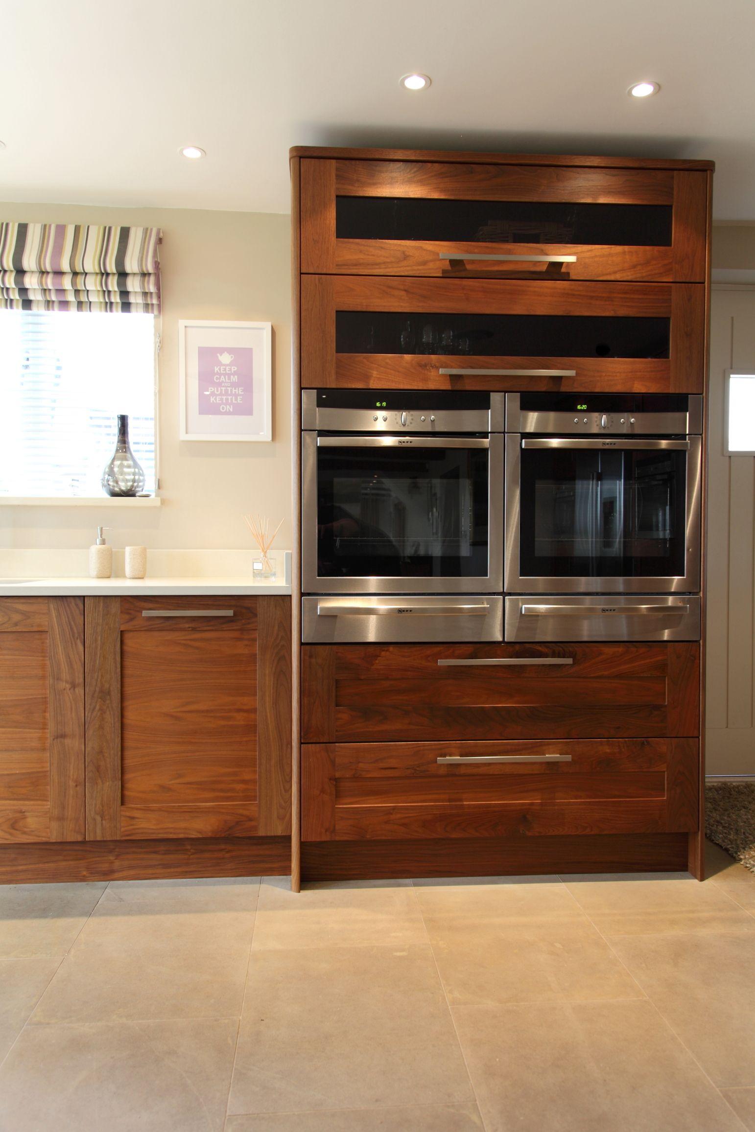 2 X Neff Single Ovens Side By Side Warming Drawers Below Super Wide Pan Drawers Below Warming Draw Kitchen Design Color Kitchen Design Kitchen Cabinet Design