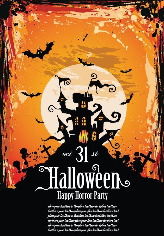 halloween party invitations | Invitations | Pinterest | Halloween ...
