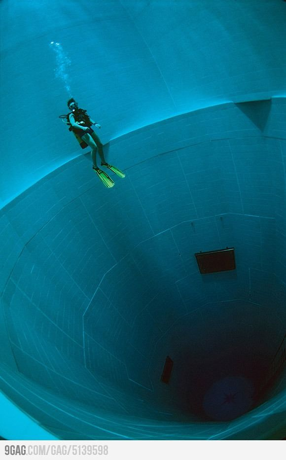 Deepest Swimming Pool In The World Deepest Swimming Pool