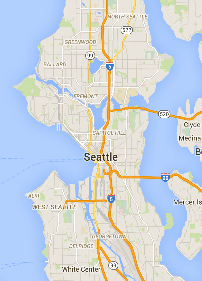 Seattle Neighborhood Guide Findwell Seattle - Seattle map neighborhood guide