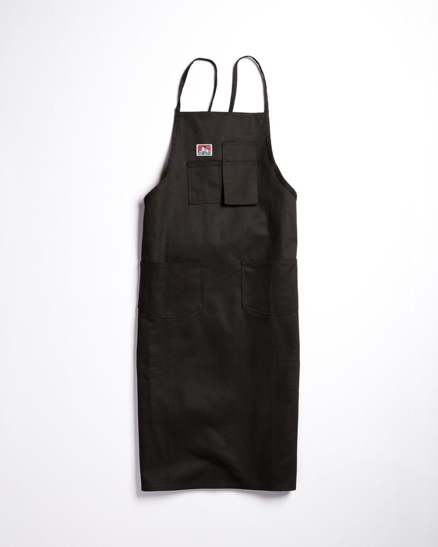 White apron gluten free - Ben Davis Black Printer S Apron