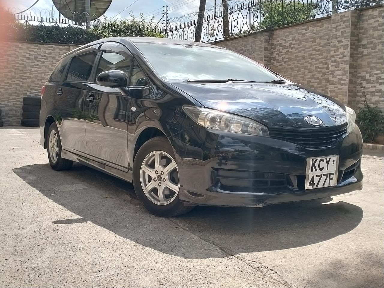 Just Arrived Toyota Wish Trade in Bank Finance Accepted