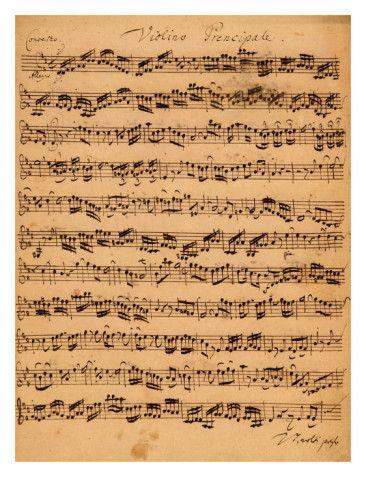 The Brandenburger Concertos No 5 D Dur 1721 Giclee Print By