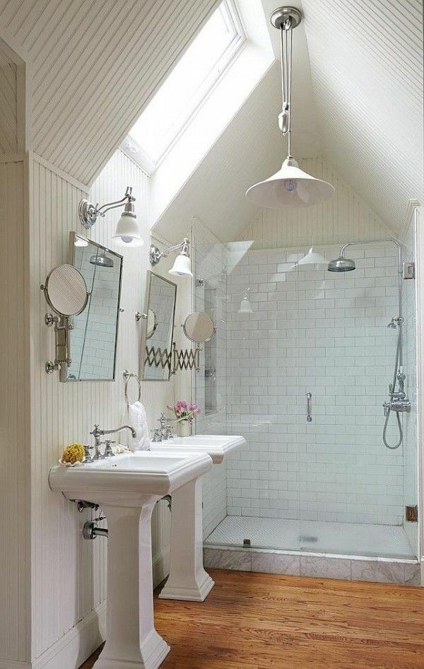 Dachgeschoss Badezimmer Designs
