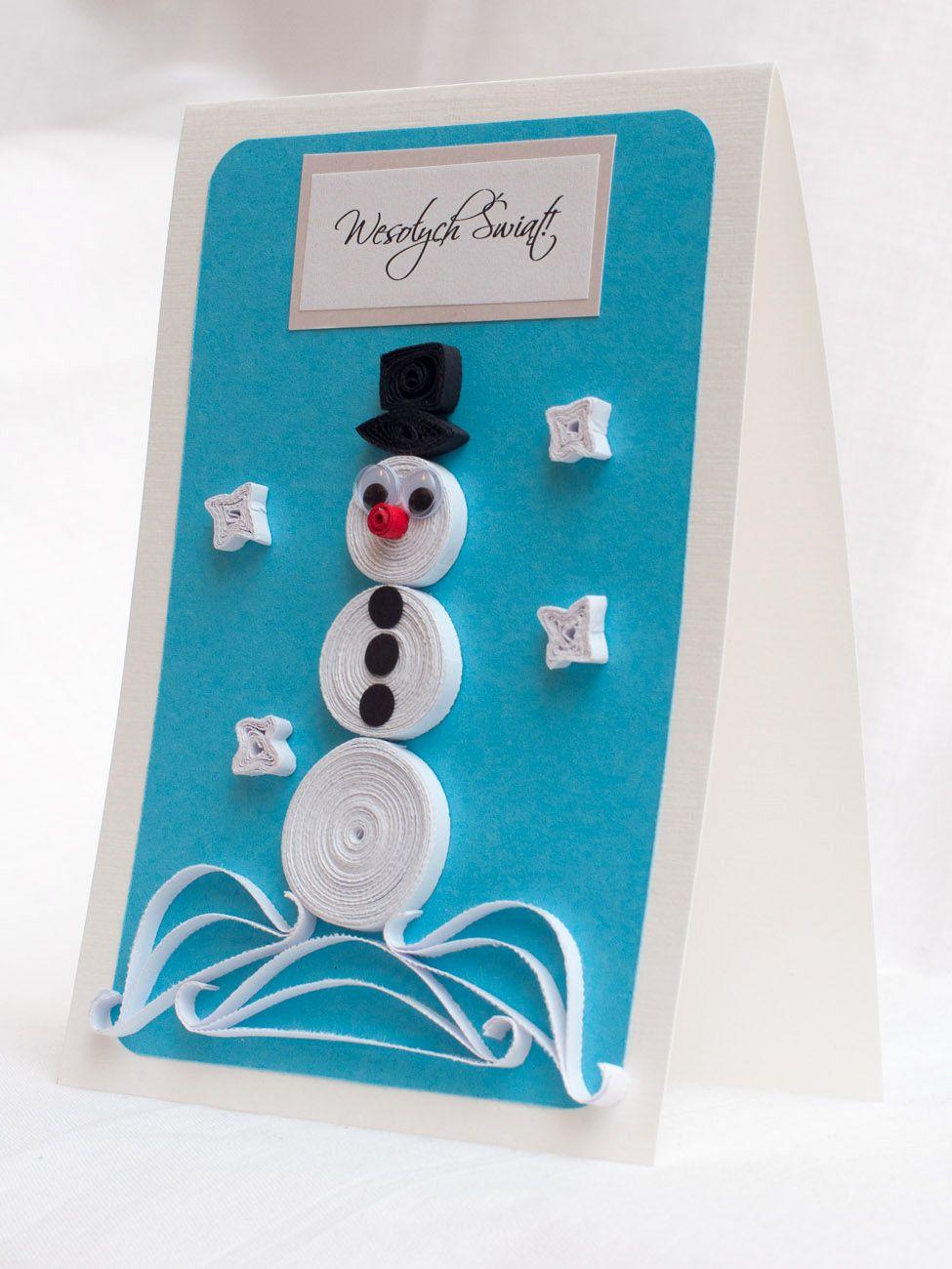 Swieta 29 Jpg 975 1300 Quilling Holiday Decor Cards