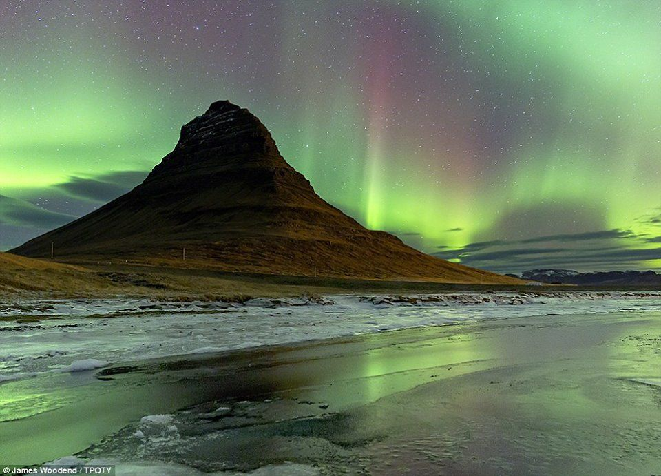 Northern Lights Iceland by James Woodend