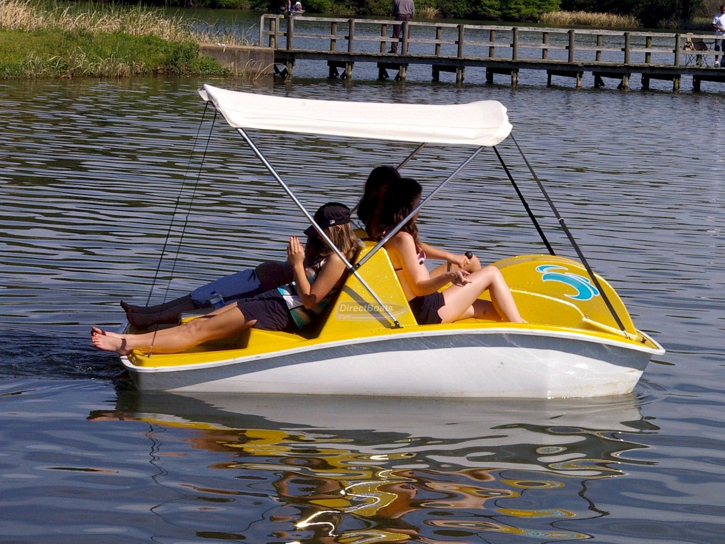 Electric Slide Self Bailing Pedal Boat & 1stdirect_2243_42074862 1417×1064 pixels | Lakehouse | Pinterest ...