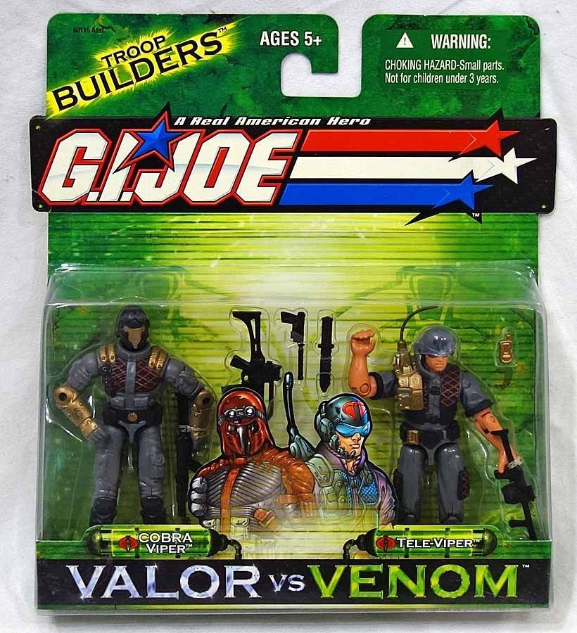 GI JOE Valor vs Venom-Cobra Viper vs Tele-Viper