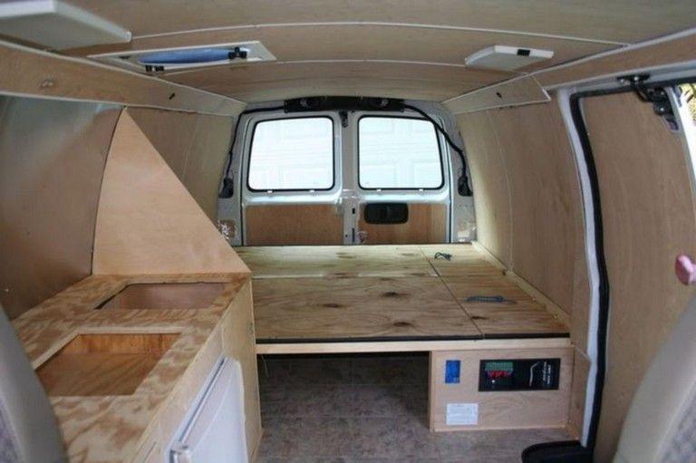 25 Top Cargo Van Camper Conversion Ideas For Cozy Summer Camper