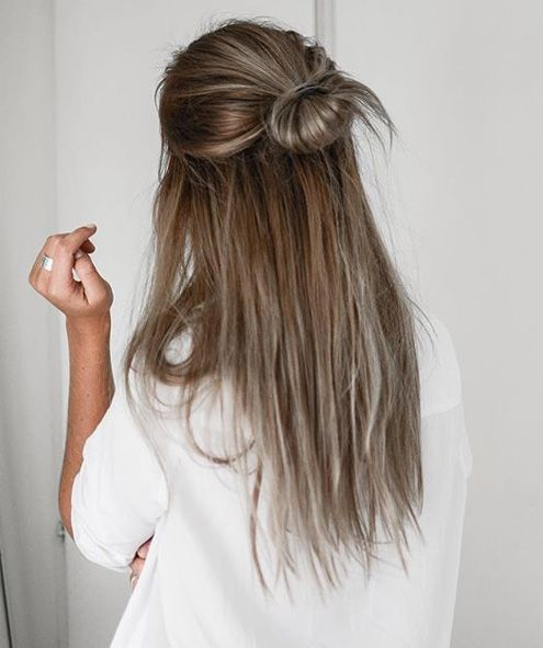 25 lovely ponytail hair ideas straight hairstyles half updo and 25 lovely ponytail hair ideas pmusecretfo Image collections