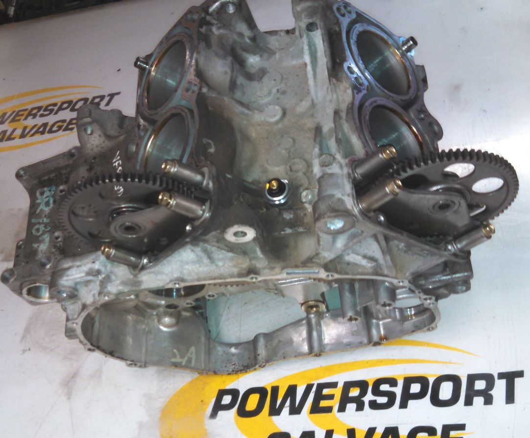 98 99 2000 01 F1 Honda VFR800 VFR 800 Interceptor Engine Crankcase Block Cases   eBay
