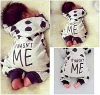 a2589cd82 Newborn Toddler Infant Baby Boy Girl Long sleeve Romper Jumpsuit ...