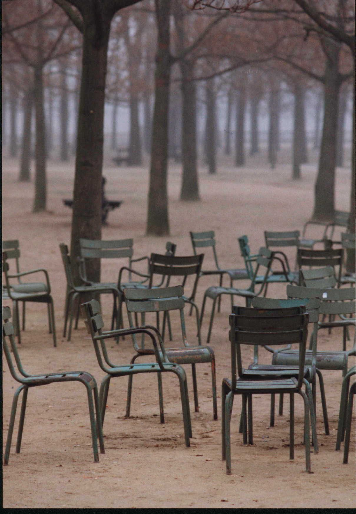 Le Jardin du Luxembourg Sit in one of these iconic green chairs