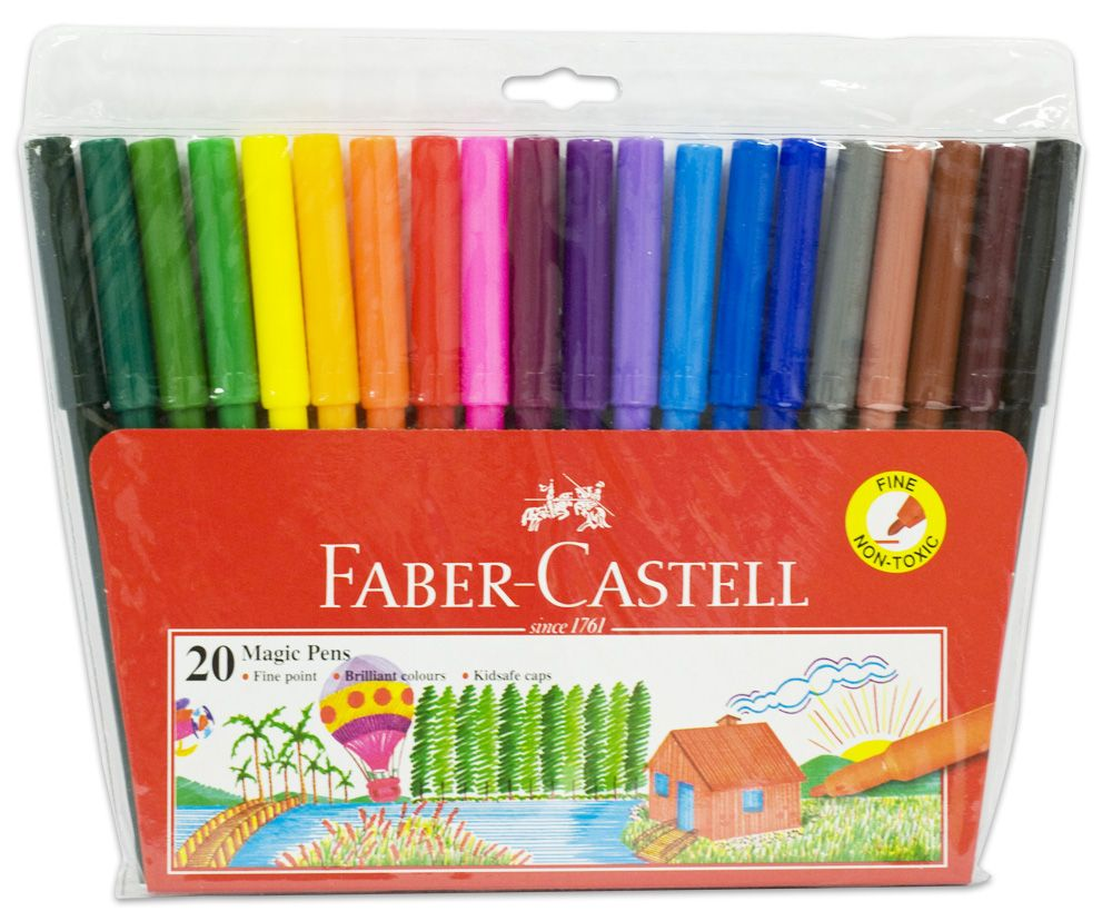 Magic Colour Pen In 12 20 Colors Pen Faber Castell