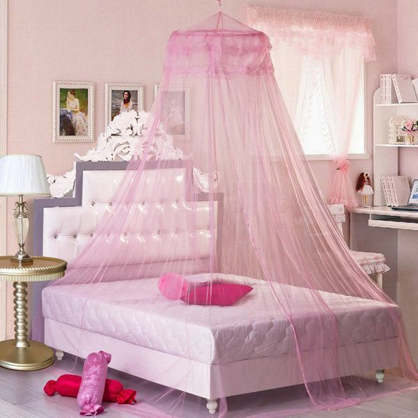 260cm Elegant Lace Hanging Bedding Mosquito Net Dome Princess Bed Canopy Netting | Products & 260cm Elegant Lace Hanging Bedding Mosquito Net Dome Princess Bed ...