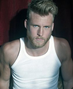 great hair and beard with images  blonde guys blonde