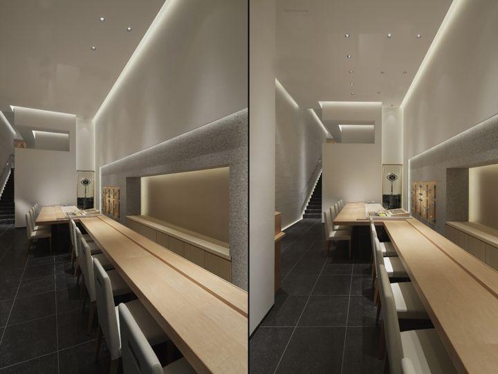 Shodai Restaurant By Ichiro Nishiwaki Design Office Tokyo Japan Retail Blog