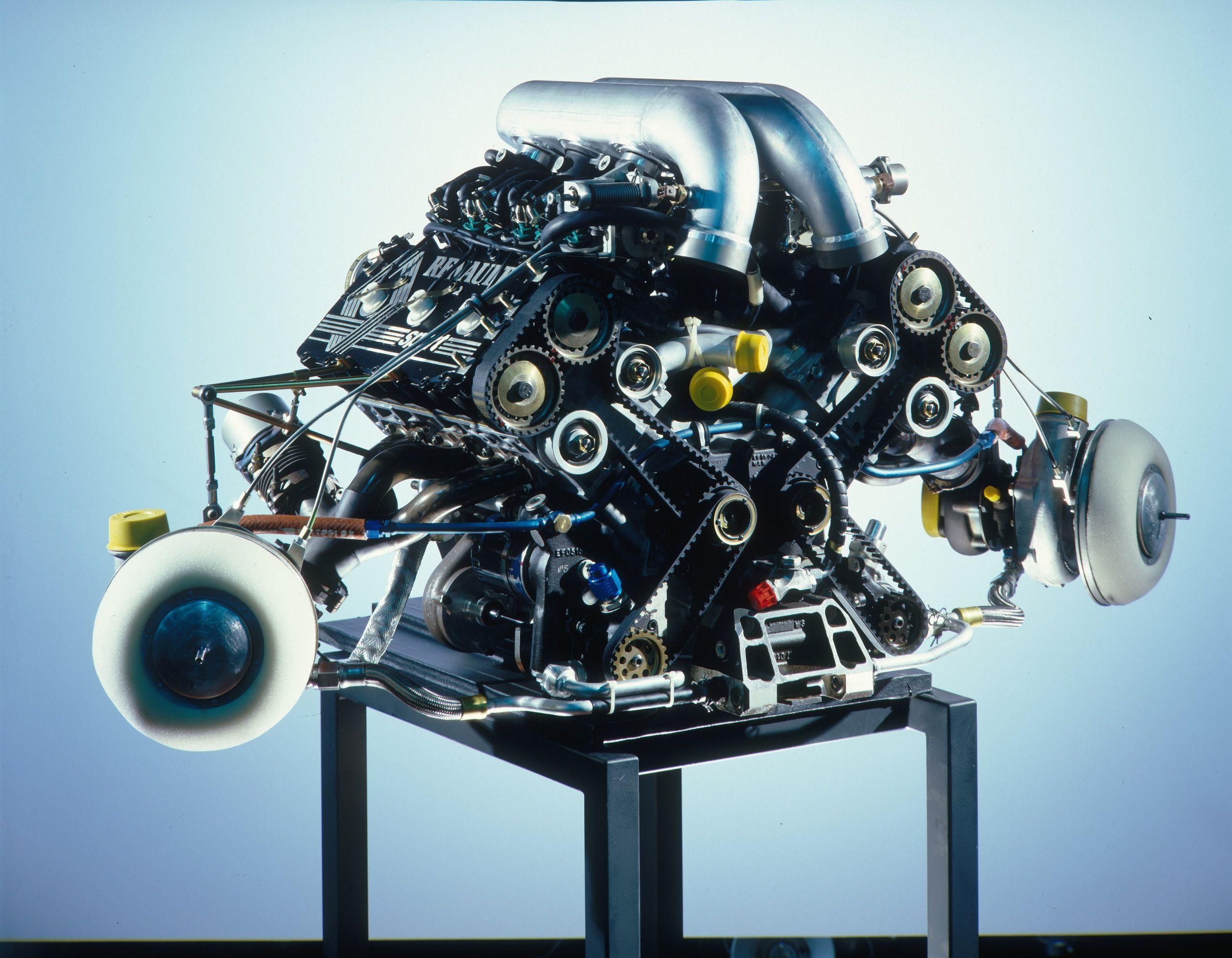 1986 Renault V6 Turbo EF15 | Engines | Engineering, Motor ...