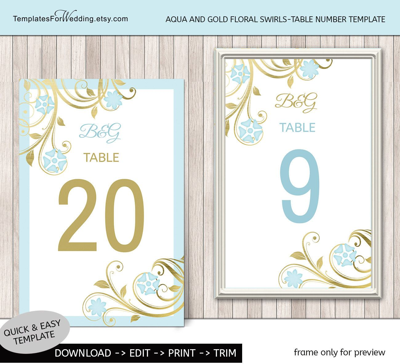 Table number insert template|wedding table card|Instant