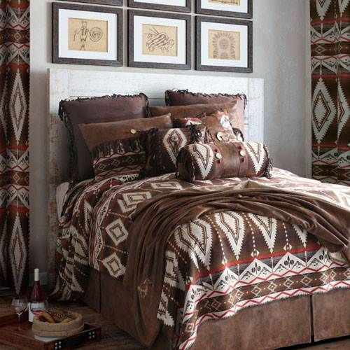 Carstens Pecos Trail Bedding - Western Diamond By Carstens Bedding,