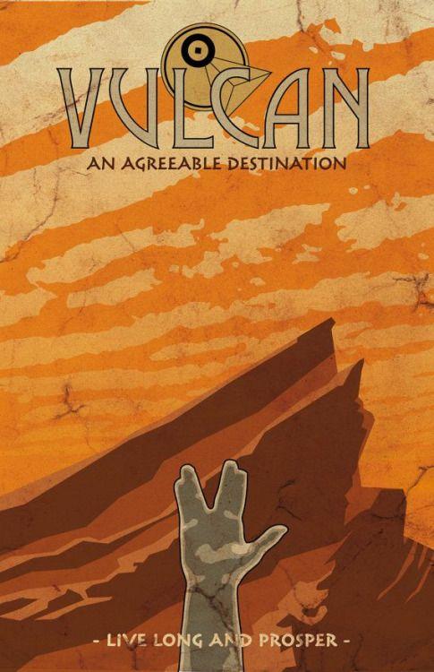 Vulcan High Priestess | Illustrazioni, Poster, Star trek
