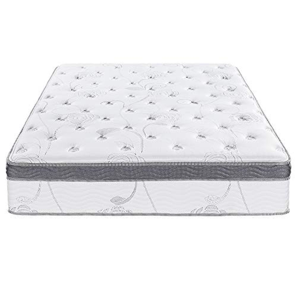 Primasleep 12 Inch Multi Layered Hybrid Euro Box Top Spring Mattress Non Weaving Innerspring Full Price In 2020 Pocket Spring Mattress Mattress Mattress Box Springs