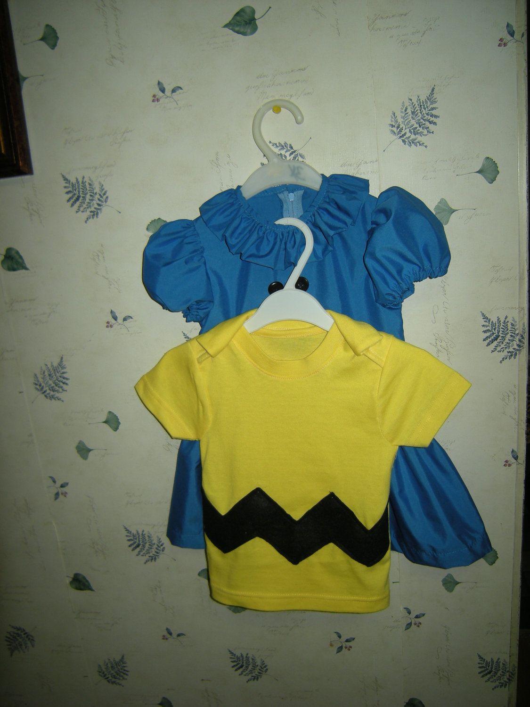 Lucy Van Pelt And Charlie Shirt Kids Costume Birthday