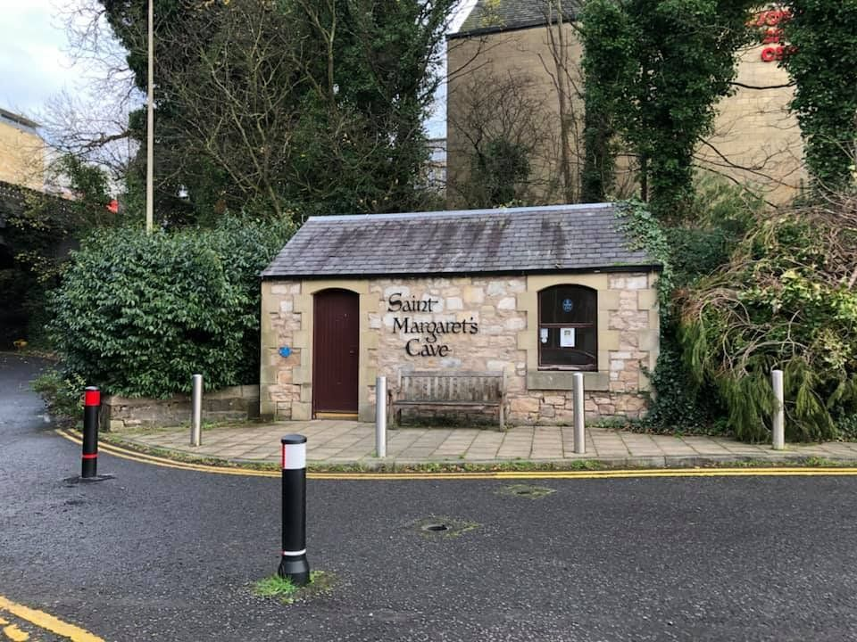 St Margaret S Cave Dunfermline Accessed From The Town Centre Car Park Glen Bridge Car Park Chalmers Street Dunferml Dunfermline St Margaret Trip Advisor