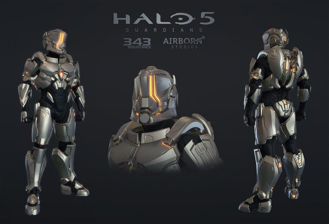 Halo 5 Multiplayer Armor Hellcat By Polyphobia3d Deviantart