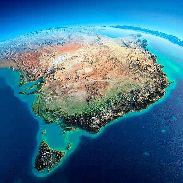 relief map of eastern australia made by anton balazh view of eastern australia and tasmania made using satellite images manipulated by