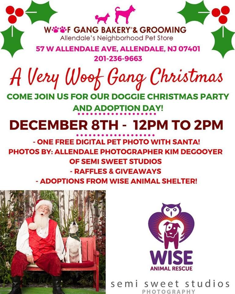 Don T Forget To Swing By This Saturday From 12 2 For Our Holiday Event Woofgangbakery Allendale Nj Adoption Day Allendale Free Digital Photos