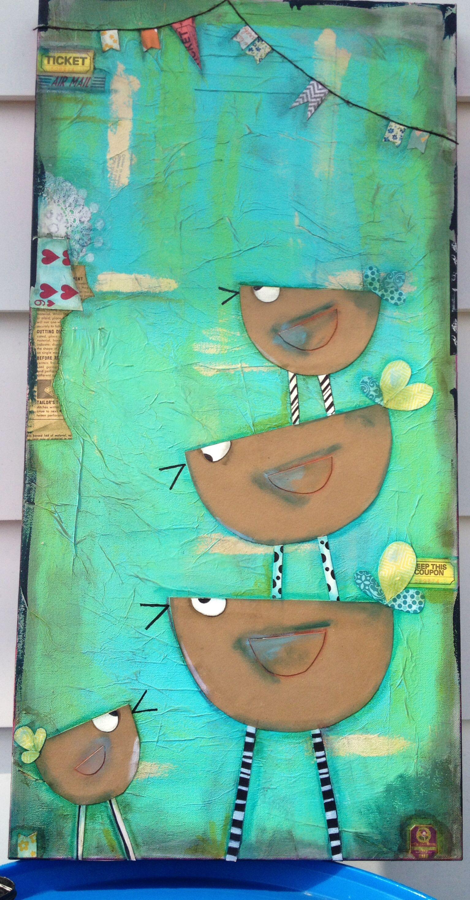 Canvas mixed media