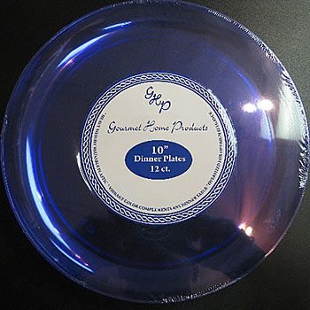 $7.99pkg/12 Our Blue Vienna Clear and Color Dinner Plates are clear light & $7.99pkg/12 Our Blue Vienna Clear and Color Dinner Plates are clear ...